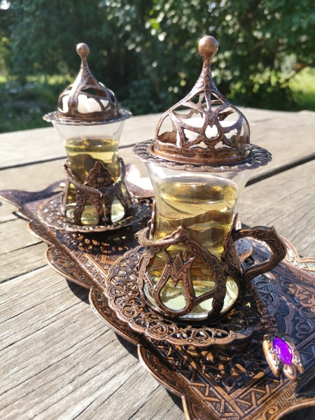 Doppel-Teeset