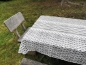 Preview: Tischdecke Strickmotiv 130cm x 180cm